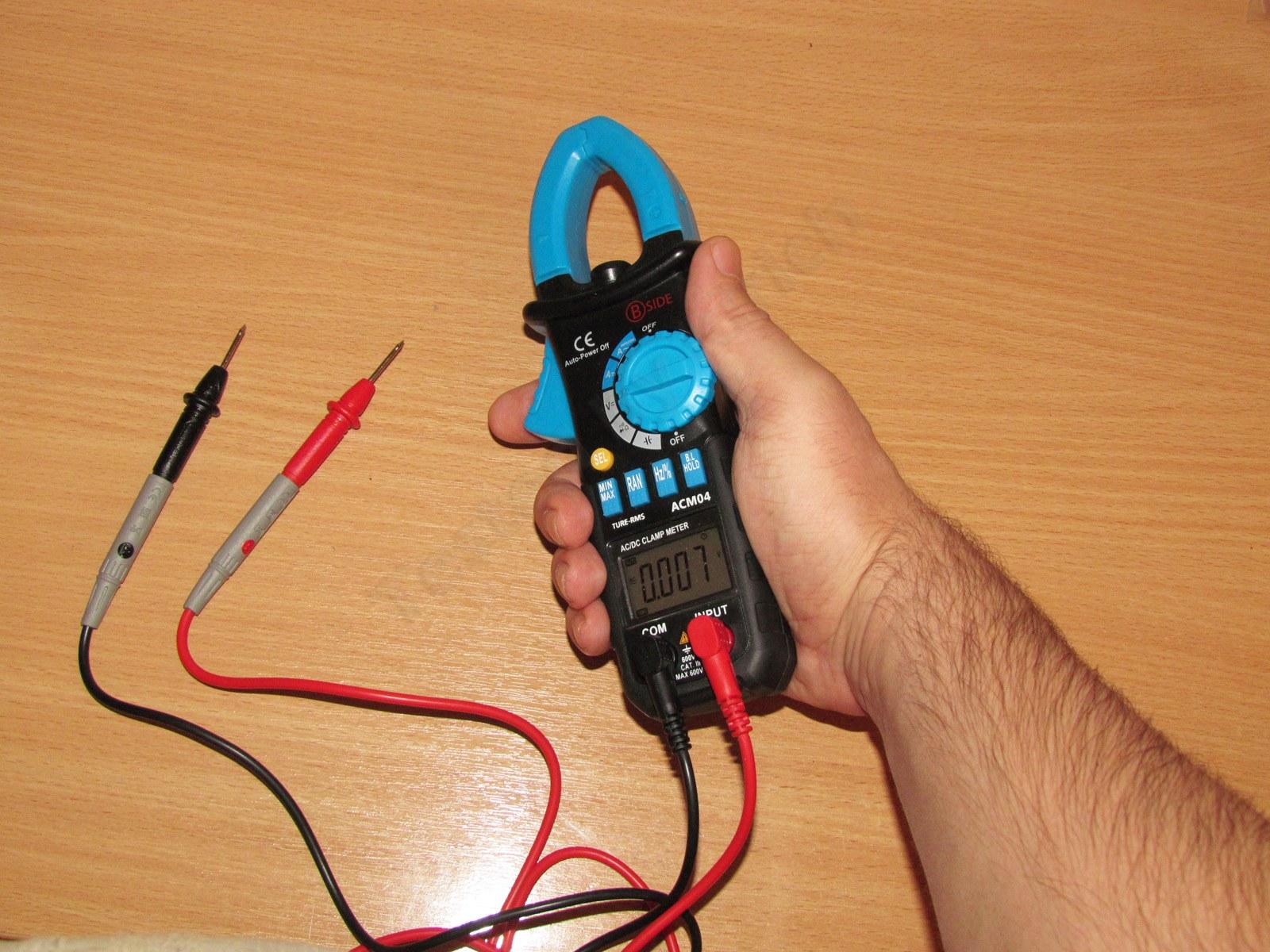 Токовые клещи для постоянного тока своими руками 3