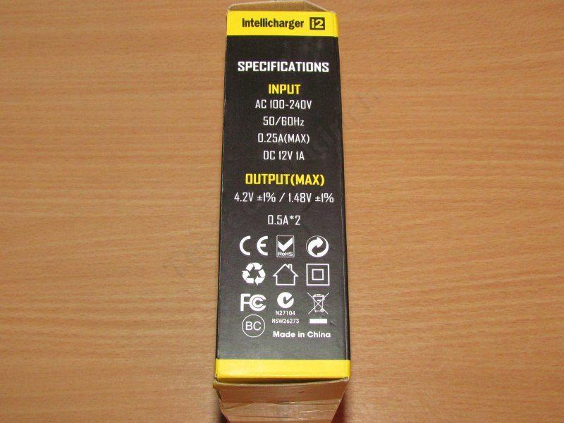 Nitecore i2, довольно неплохое зарядное устройство для Li-ion, Ni-MH и Ni-Cd аккумуляторов.