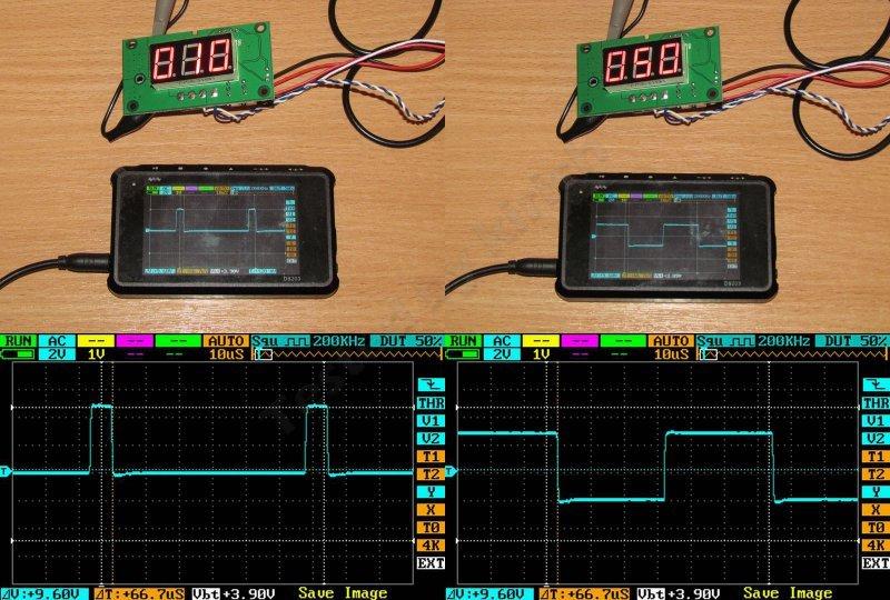 Цифровой ШИМ регулятор оборотов коллекторного двигателя.