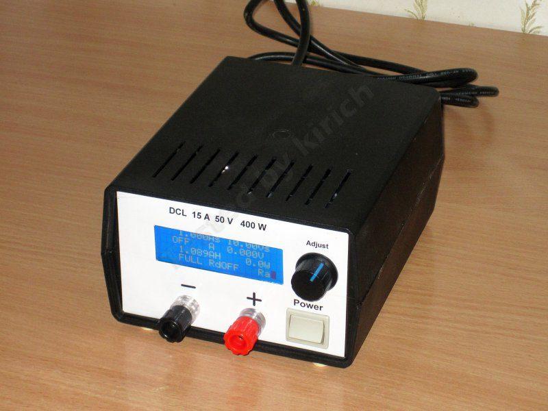 Блок питания наизнанку или плата управления электронной нагрузкой V2