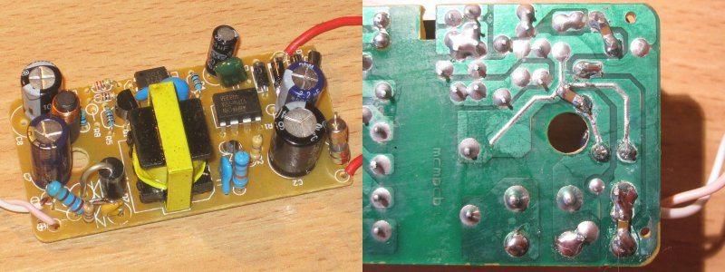 5 Вольт 2 Ампера блок питания с microUSB штеккером