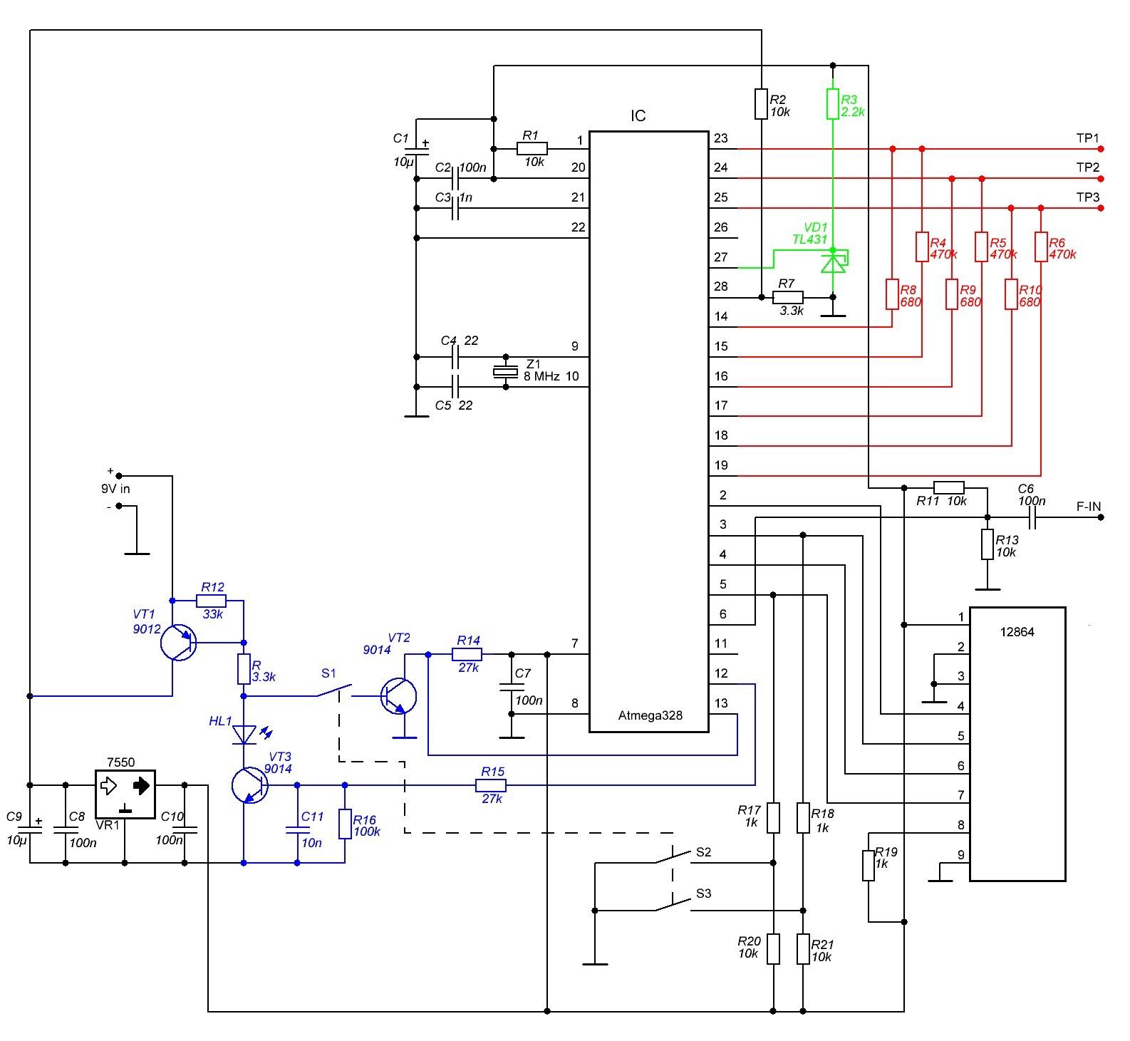 схема электрооборудования м412 иэ