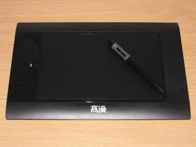 Gaomon 860T, еще один графический планшет.