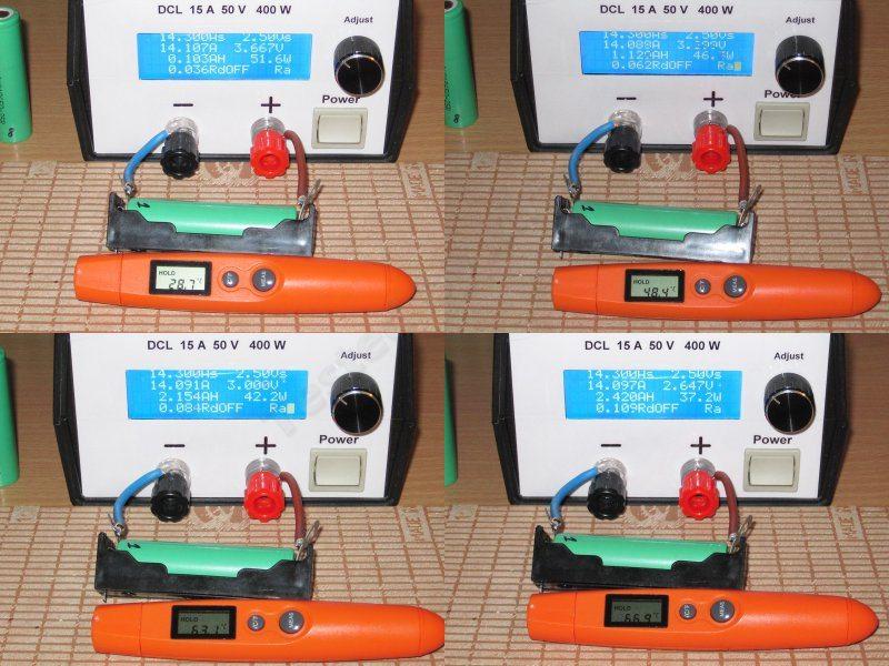 INR18650 - 25R тест и небольшая история одного заказа