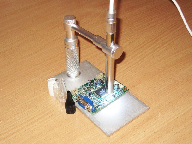 Интересный USB микроскоп