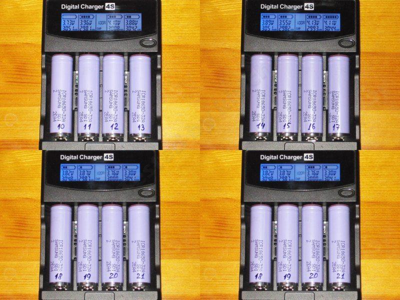 Еще одна партия аккумуляторов Samsung, теперь ICR18650 - 32A в защищенном исполнении (обзор дополнен)