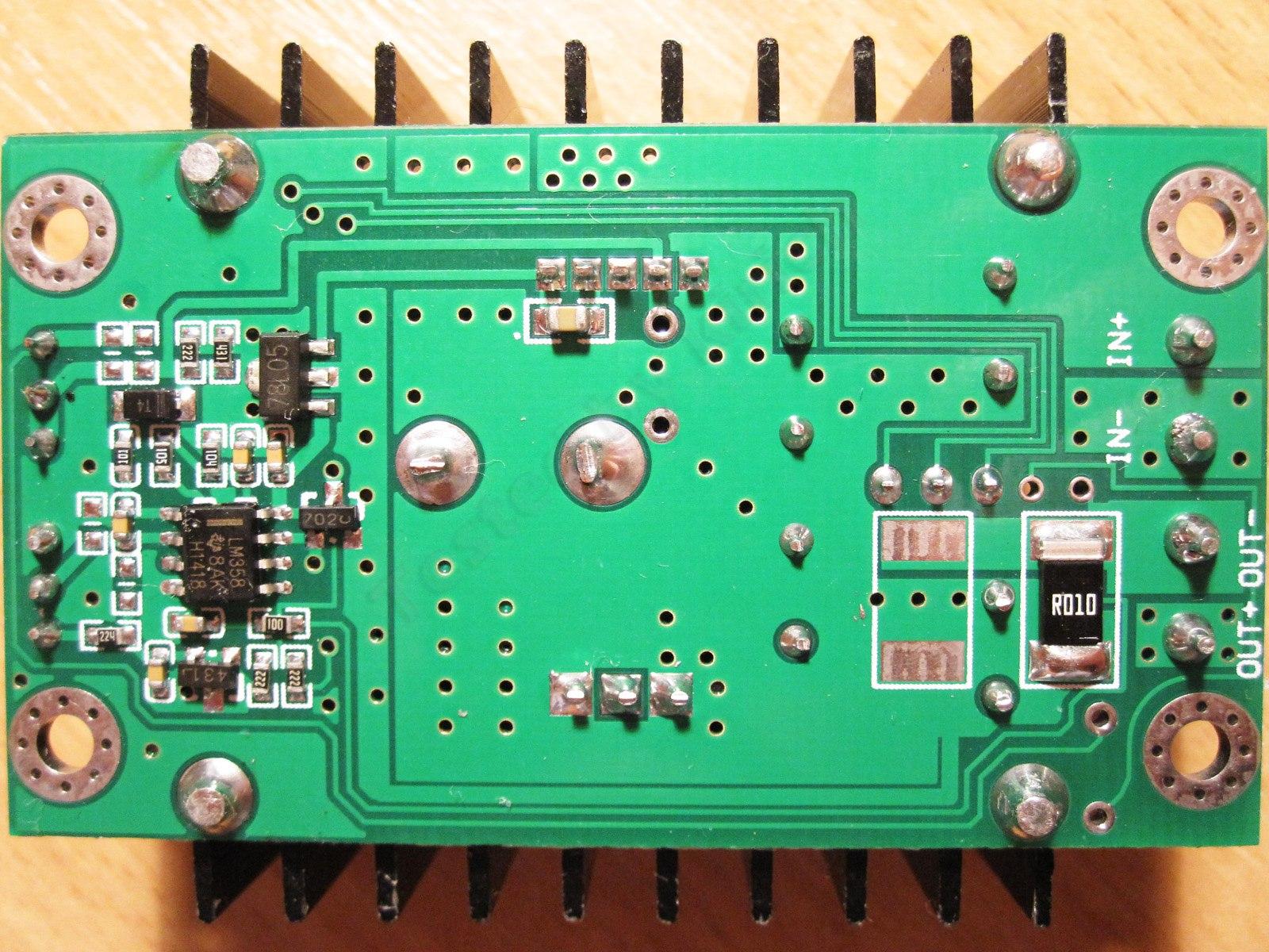 Dc-dc преобразователь понижающий 3-40 в / 1-35 в, 3 а, lm2596.