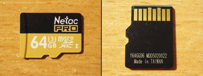 Netac P500 64GB Micro SD, маленький обзор маленькой карты памяти