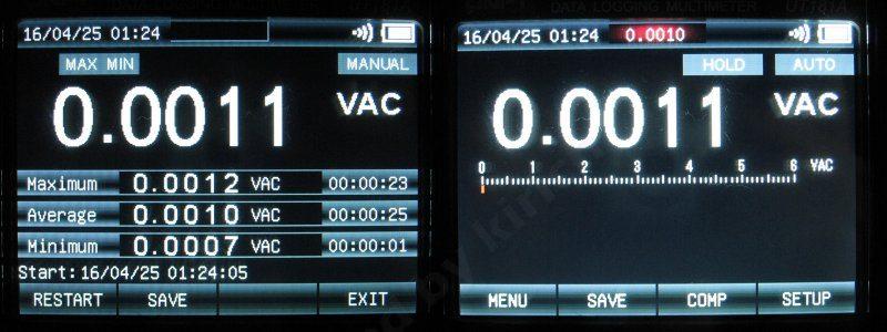 Uni-T UT181A, профессиональный мультиметр-регистратор