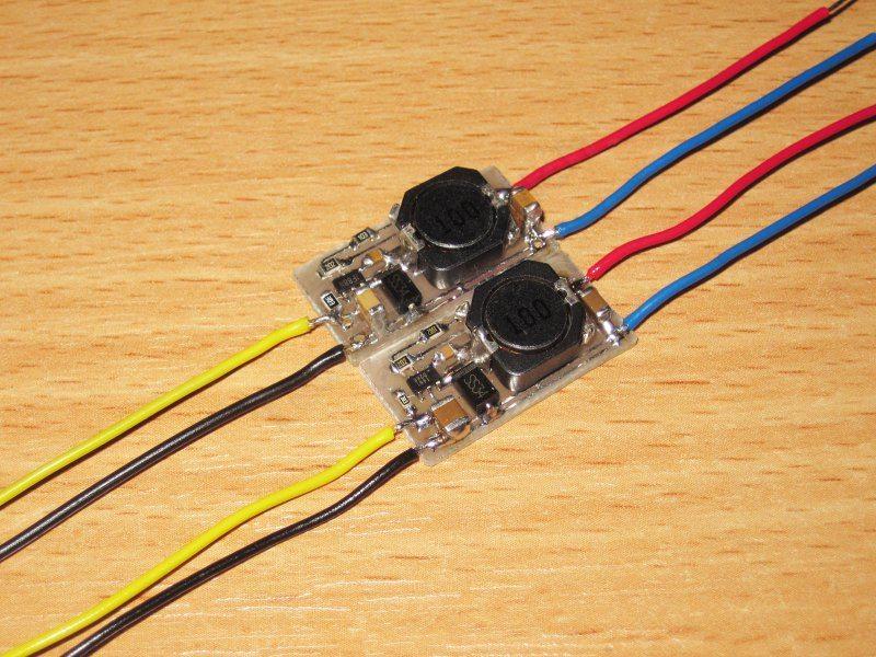 TRI1461, еще одна мелкая микросхема для построения DC-DC преобразователя