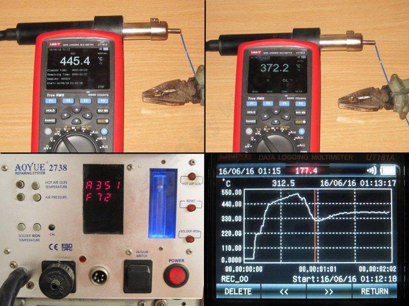 GJ-8018LCD простой термофен и небольшое сравнение