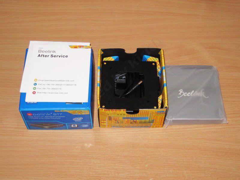 Beelink BT7, маленький компьютер на базе Atom X7-Z8700