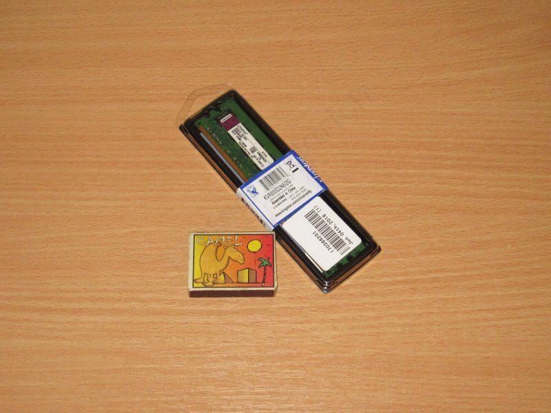 2GB DDR2 Kingston KVR800D2N6 или небольшой обзор еще одного модуля памяти
