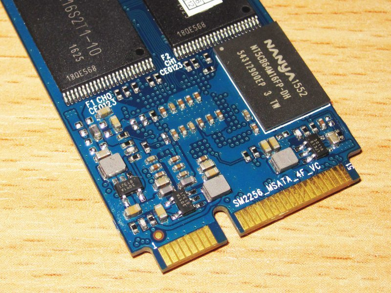 KingDian M280 - 120GB, SSD формфактора mSATA