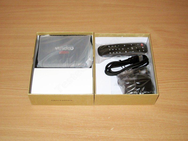 YUNDOO Y2, ТВ бокс на новом процессоре S912