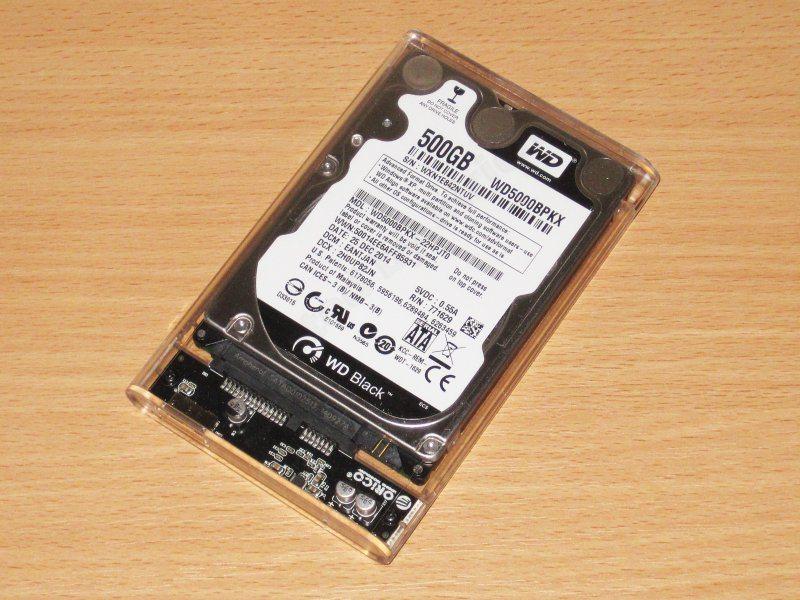 ORICO 2139U3, бокс для жесткого диска/SSD 2.5 дюйма и пара кабелей