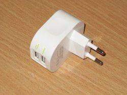 Не очень удачное USB зарядное устройство (блок питания)