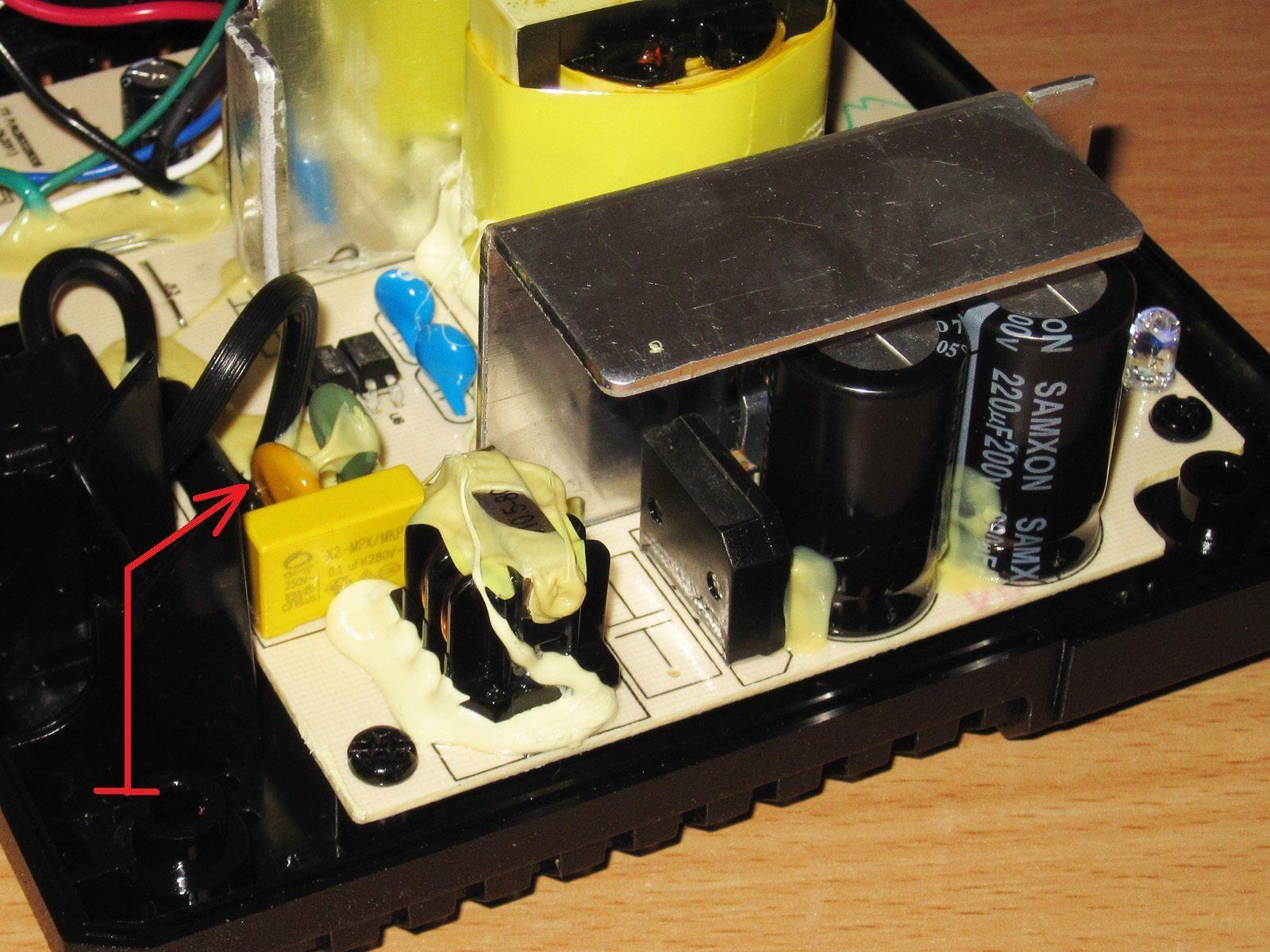 самая простая схема зарядногоустройства на 12 вольт