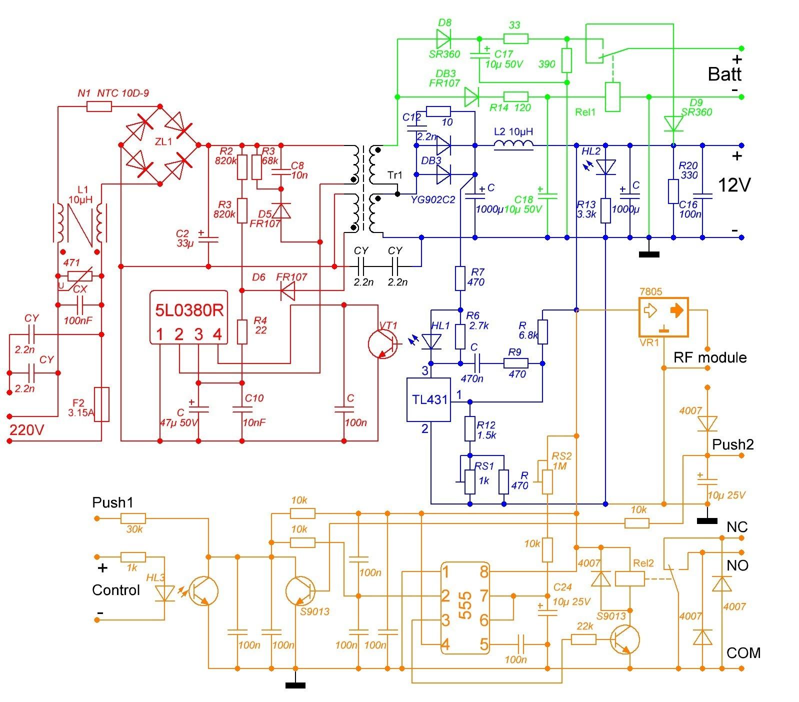 ббп 20м схема монтажа
