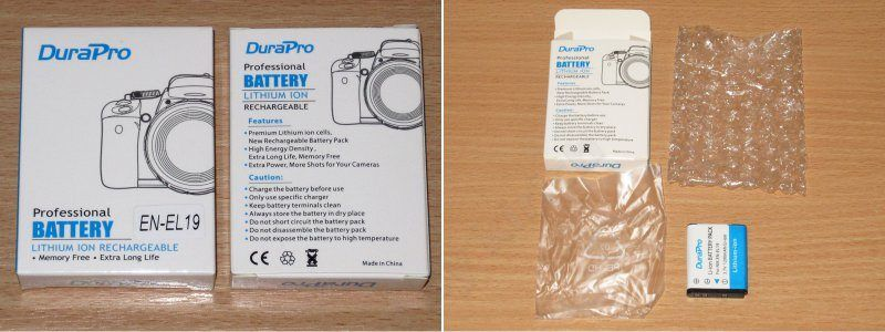 Аккумуляторы для фотоаппаратов, разные, но такие одинаковые