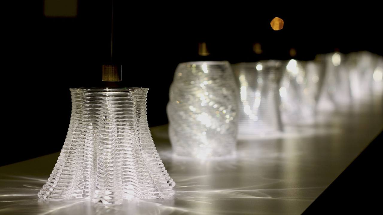 Трехмерная печать стеклом