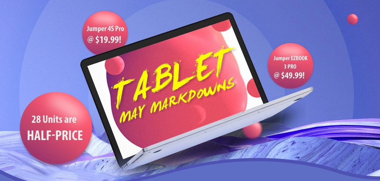 The Jumper New Arrival Tablet PC Flash Sale from $159.99