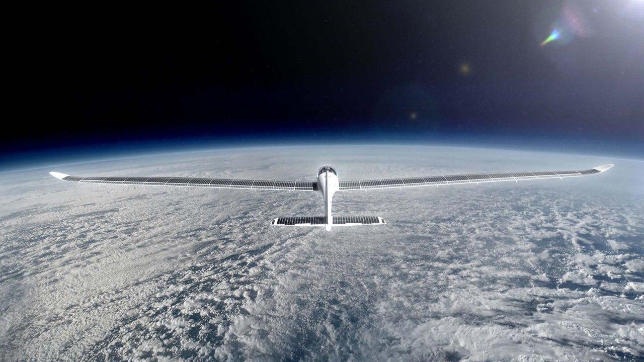 «Солнечный» самолет