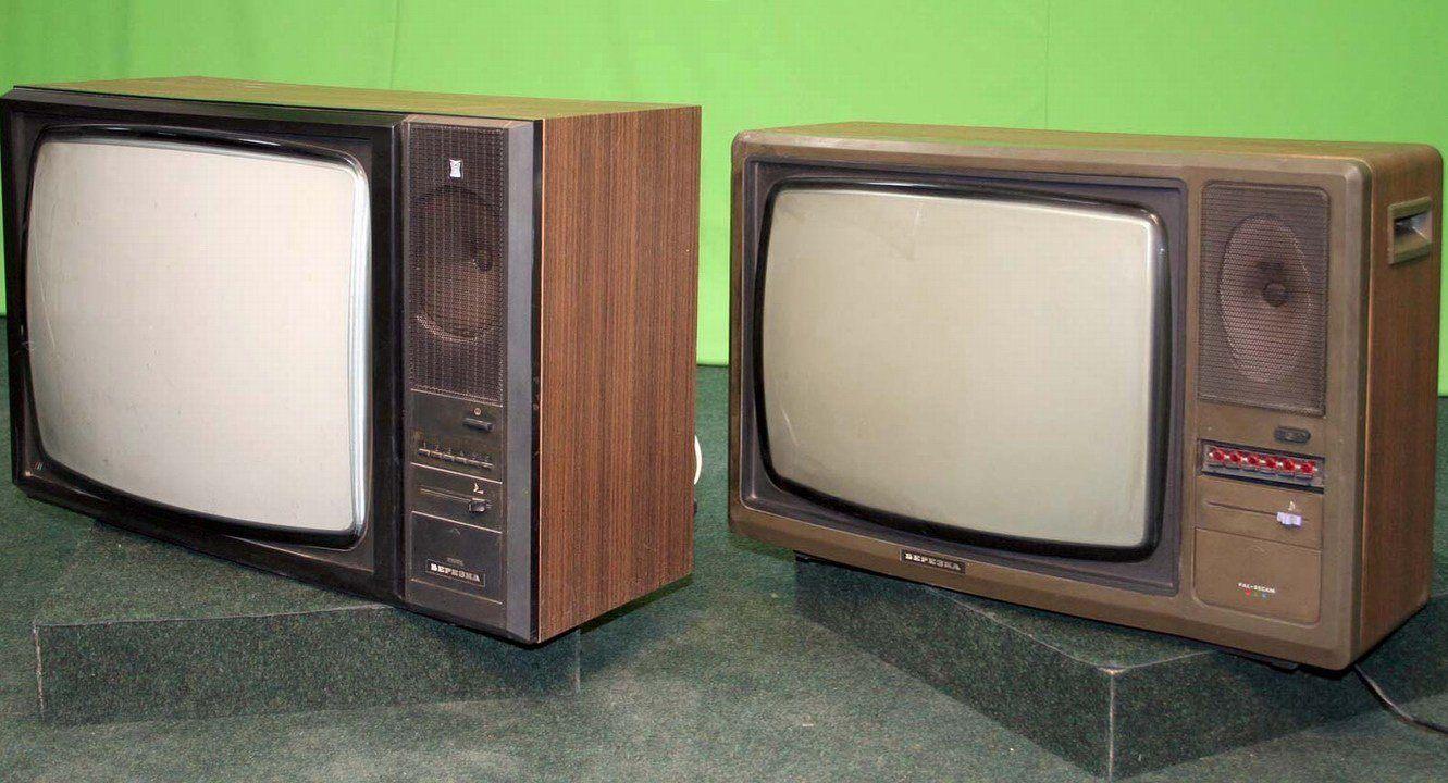 Телевизор березка цветной схема