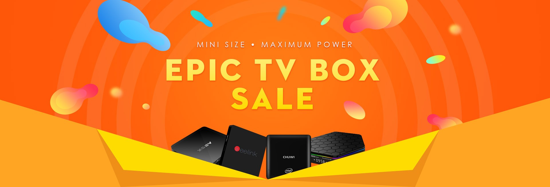 2017 TV BOX Flash Sale