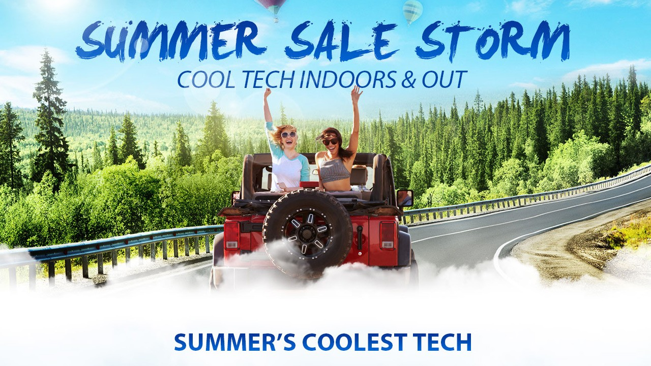 The Summer Cool Tech and Outdoor Gear Sale Storm
