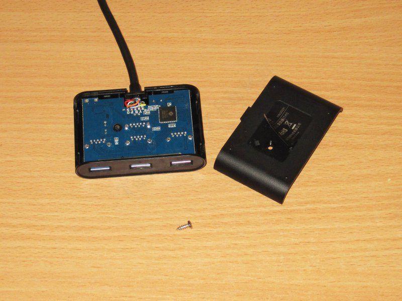 Небольшой четырехпортовый USB 3.0 хаб от Ugreen