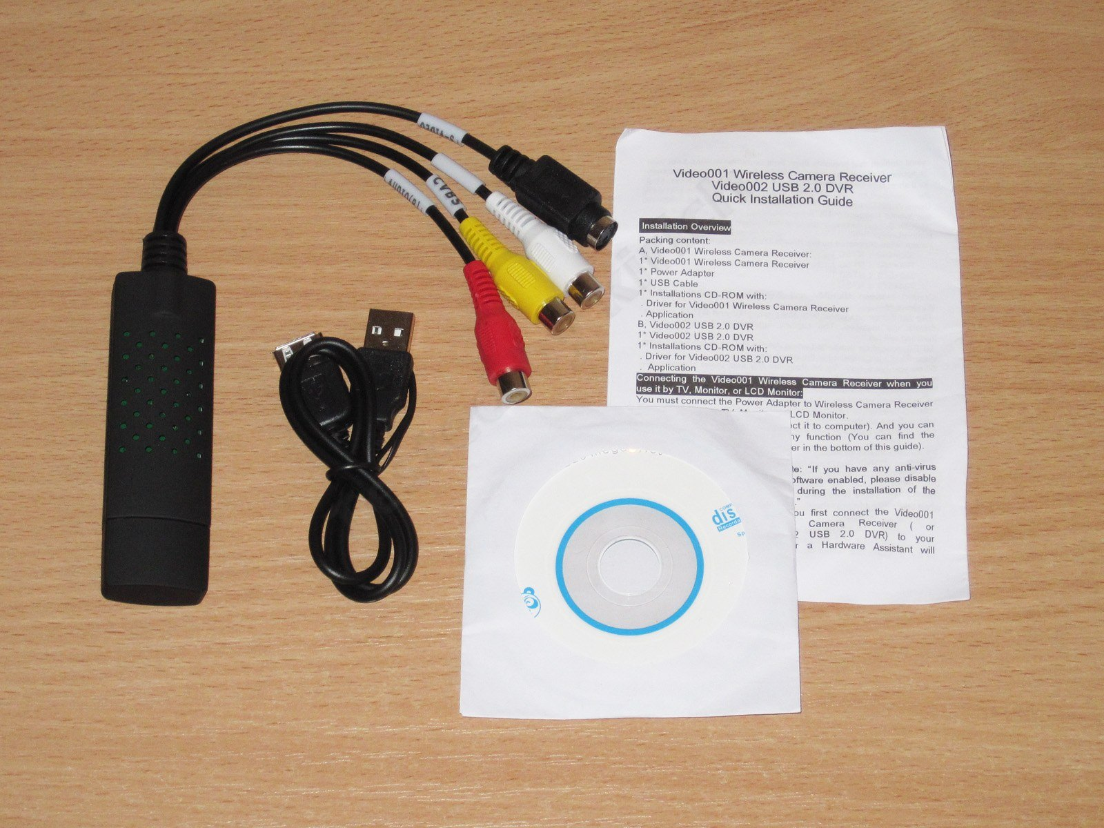 VIDEO001 WIRELESS CAMERA RECEIVER DRIVER DOWNLOAD