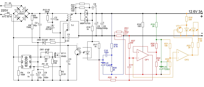 Интеллектуальное зарядное устройство схема фото 189