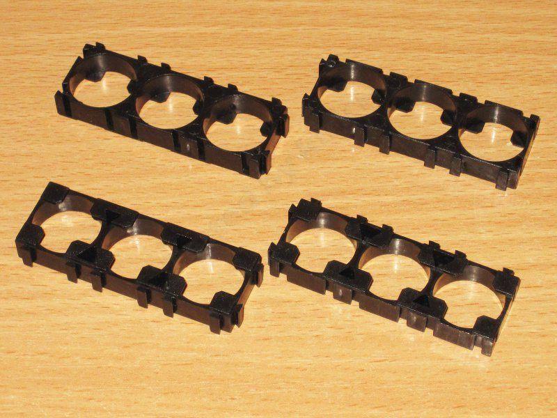 Рамки для сборки батарей из 18500/18650 элементов