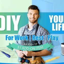 The 2017 Best DIY Your Life Flash Sale from Only $1