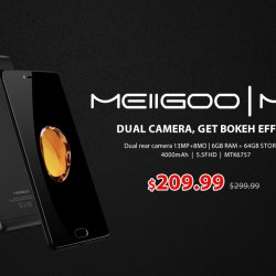 The 2017 Best Android Mobile Phone Meiigoo M1 4G Phablet Flash Sale from $209.99