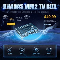 Супер акция! KHADAS VIM2 TV BOX всего за $49.99