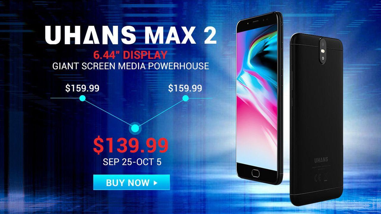 Распродажа смартфонов Uhans от $139.99