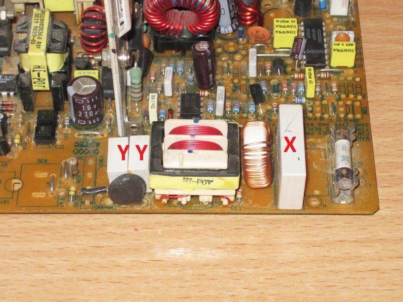 Компоненты часть 1, Х конденсаторы