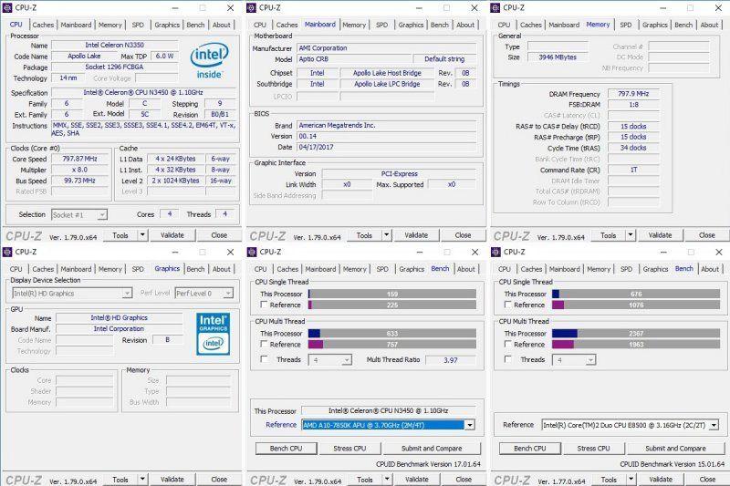 Beelink M1, мини компьютер с Intel N3450