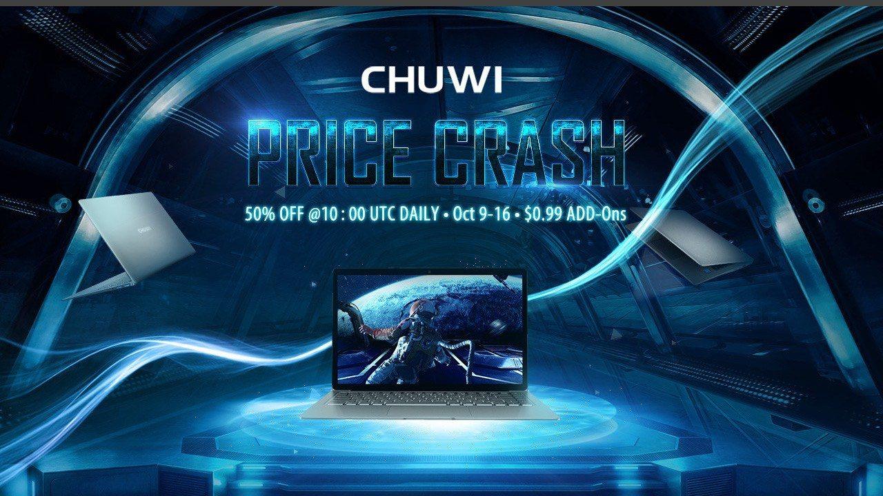 Ноутбуки CHUWI и другая техника CHUWI со скидкой до 50%