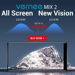 Смартфон Vernee All Screen и Vernee New Vision всего за $169.99