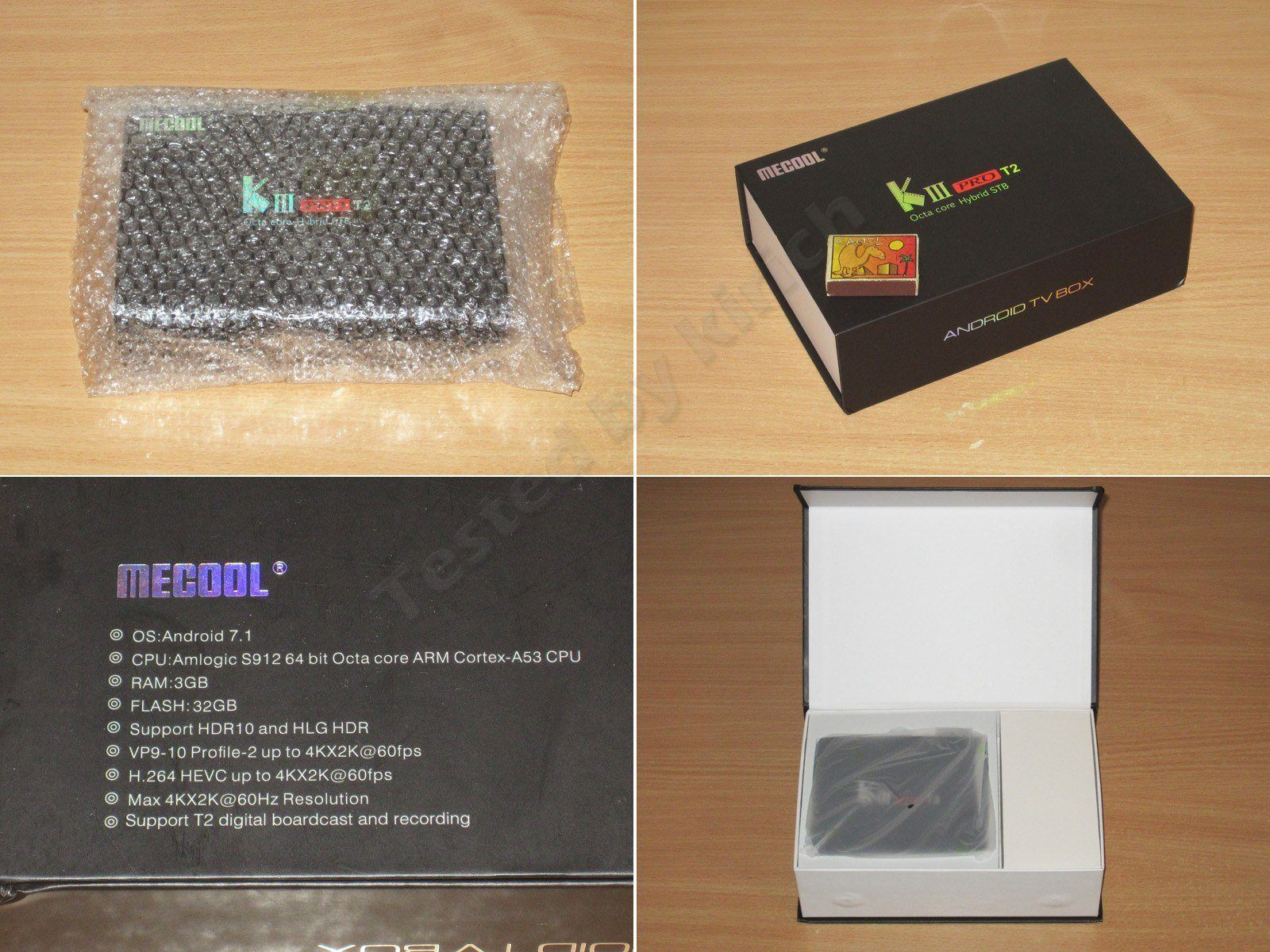 MECOOL-KIII-PRO, неплохой ТВ бокс со встроенным T2 тюнером