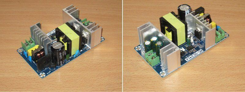 Блок питания Geekcreit 36V 180W, продолжение