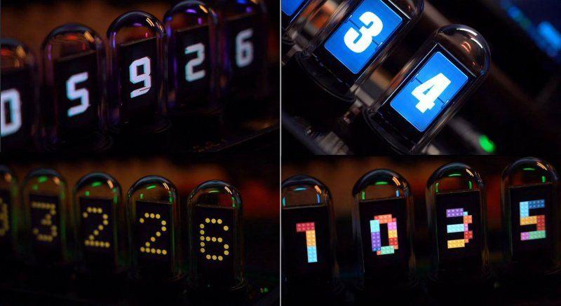 Настольные часы EleksTube от EleksMaker